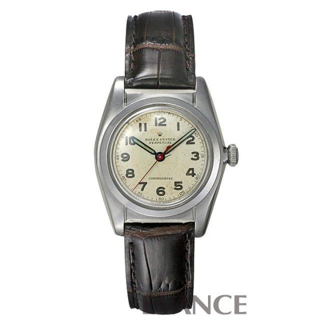 ロレックス バブルバック 2940 シルバー メンズ ROLEX アンティーク 腕時計