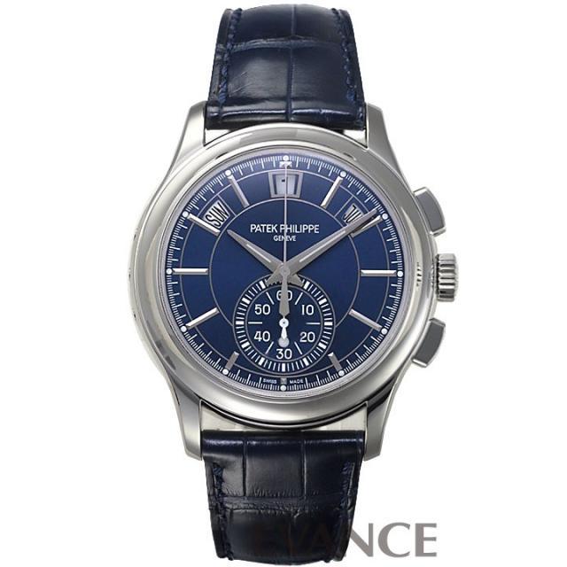 パテック・フィリップ コンプリケーション アニュアルカレンダー クロノグラフ 5905P-001 ブルー メンズ PATEK PHILIPPE 中古 腕時計