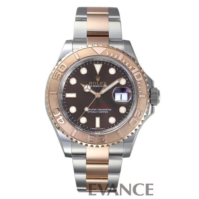 ロレックス ヨットマスター40 116621 チョコレート メンズ ROLEX 中古 腕時計
