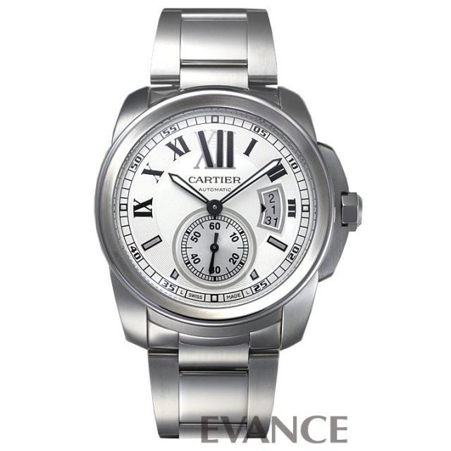 カルティエ カリブル ドゥ カルティエ W7100013 シルバー メンズ CARTIER 中古 腕時計