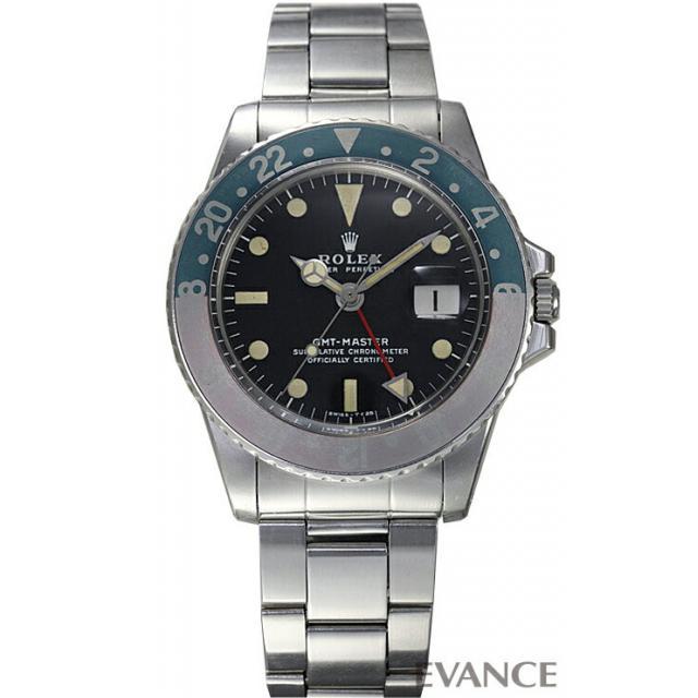 ロレックス GMTマスター 1675 赤青ベゼル メンズ ROLEX アンティーク 腕時計
