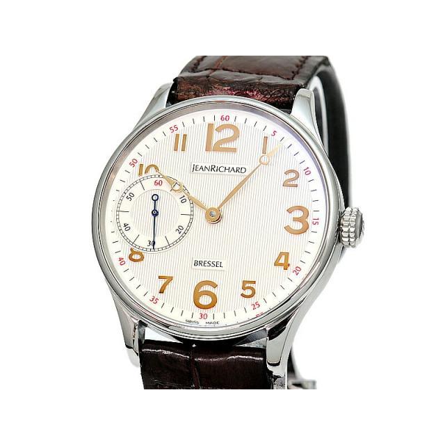 ジャンリシャール ブレッセル1665 Ref.16012 新品仕上げ済 手巻き 裏スケルトン ビジネス腕時計 フォーマル腕時計 送料無料 中古 楽ギフ_包装選択 楽ギフ_のし宛書 楽ギフ_メッセ入力 [3年保証/返品OK]