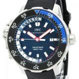 IWC アクアタイマー ディープシー ステンレススチール ラバー 自動巻き メンズ 時計 IW354702 中古 外装仕上げ済み
