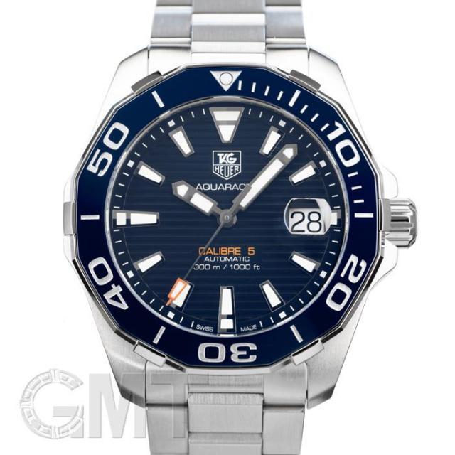 タグ・ホイヤー アクアレーサー 300M Cal.5 41mm ブルー WAY211C.BA0928 TAG HEUER 新品 メンズ  腕時計  送料無料