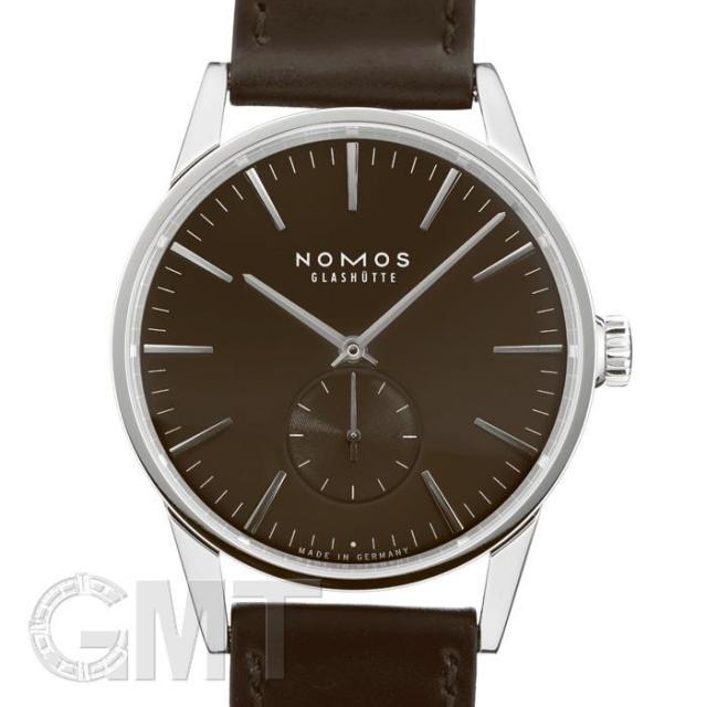 ノモス チューリッヒ ブラウン ZR1E3BR2 NOMOS 未使用品 メンズ  腕時計 未使用品