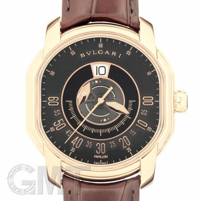 ブルガリ ダニエルロート パピヨン BRRP45BGLPAP BVLGARI 中古 メンズ  腕時計  送料無料  あす楽_年中無休