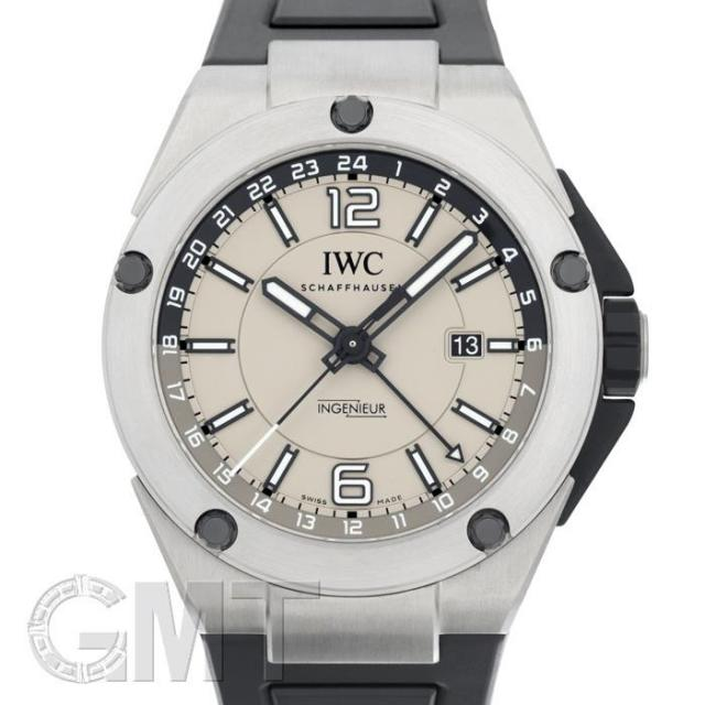 IWC インヂュニア デュアルタイムチタニウム IW326403 IWC 中古 メンズ 腕時計 送料無料
