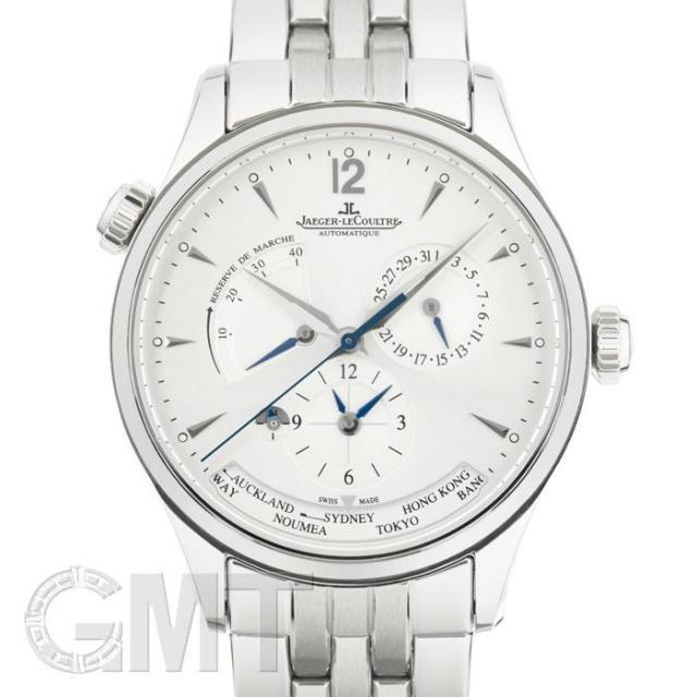 ジャガールクルト マスター ジオグラフィーク シルバー Q1428121 JAEGER LECOULTRE 中古 メンズ 腕時計 送料無料 あす楽_年中無休