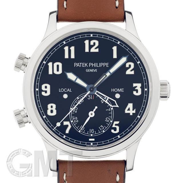 パテック・フィリップ カラトラバ パイロット トラベルタイム 5524G-001 PATEK PHILIPPE 未使用品 メンズ  腕時計  送料無料  未使用品