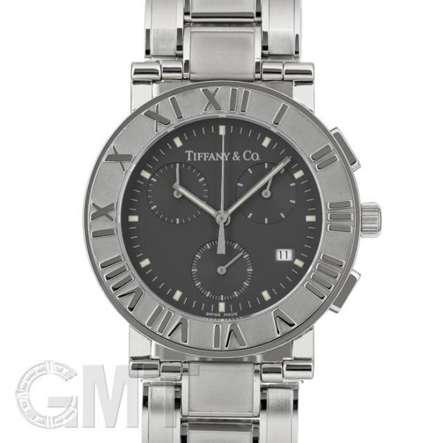 ティファニー アトラス ラウンド クロノグラフ 14705325 TIFFANY & Co. 中古 ユニセックス  腕時計  送料無料