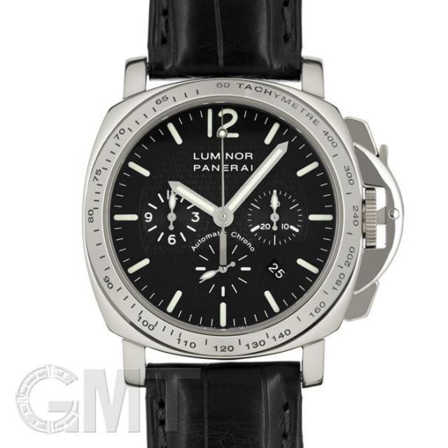 パネライ ルミノールクロノ2000 PAM00045 限定100本 OFFICINE PANERAI 中古 メンズ 腕時計 送料無料