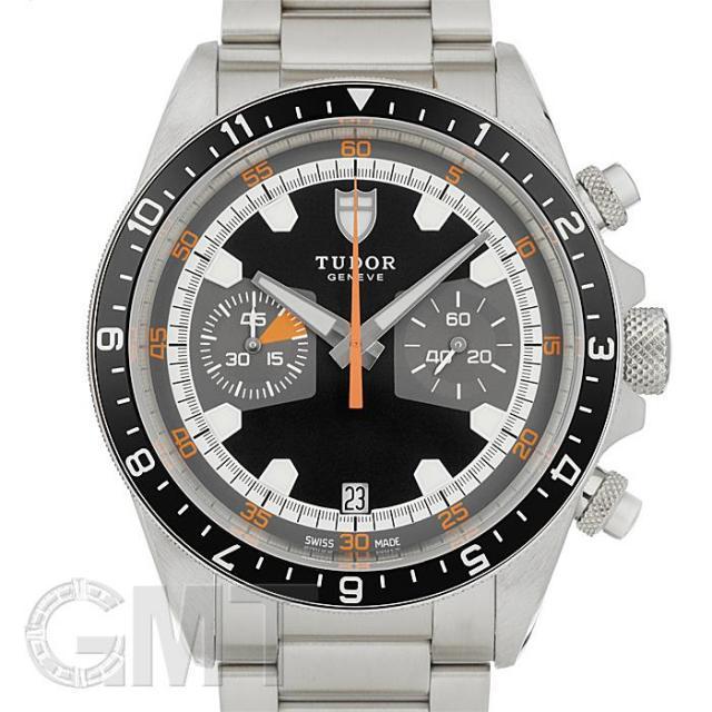 チュードル ヘリテイジ クロノグラフ グレー 70330N TUDOR 中古 メンズ 腕時計 送料無料