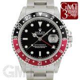ロレックス GMTマスターII 16710 ブラック/レッド ROLEX 中古 メンズ 腕時計 送料無料