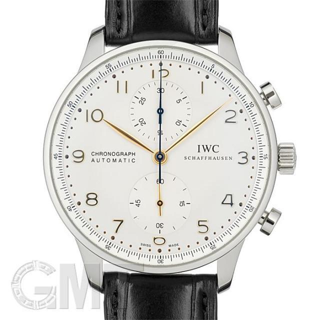 IWC ポルトギーゼ クロノグラフ オートマティック IW371445 IWC 中古 メンズ  腕時計  送料無料  あす楽_年中無休