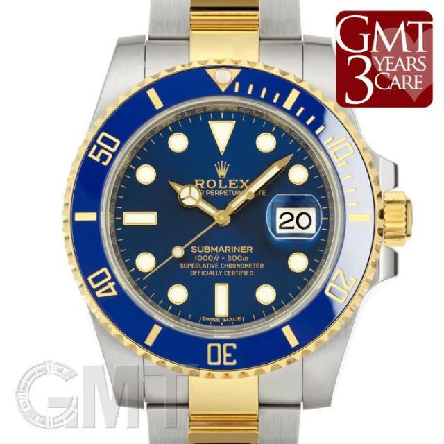 ロレックス サブマリーナ デイト 116613LB 新ブルーダイヤル ROLEX 中古 メンズ  腕時計  送料無料