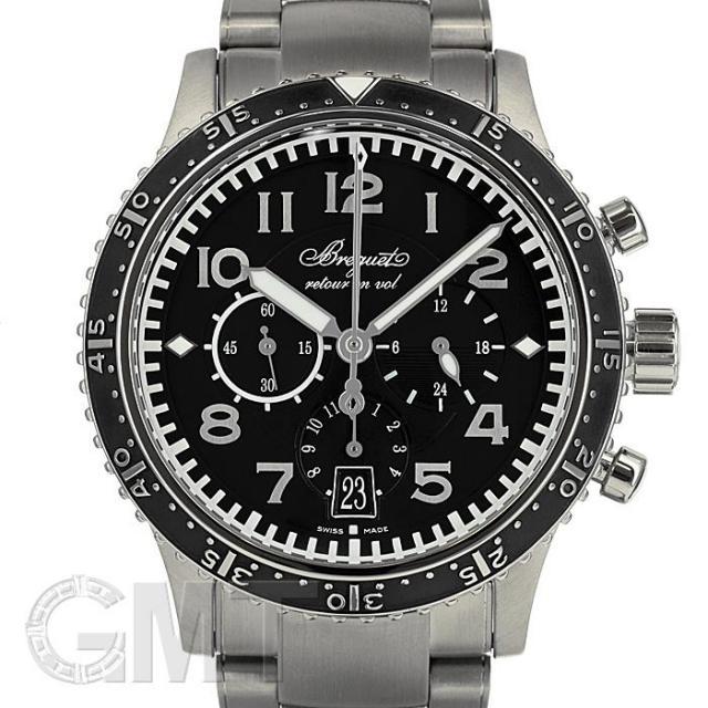 ブレゲ TYPE XXI タイプトゥエンティワン 3810TI/H2/TZ9 BREGUET 中古 メンズ  腕時計  送料無料