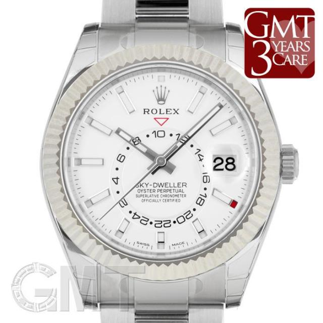 ロレックス スカイドゥエラー 326934 シルバー 2017年新作 ROLEX 未使用品 メンズ 腕時計 送料無料 あす楽_年中無休