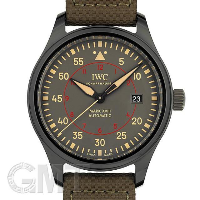 IWC パイロット ウォッチ マーク XVIII トップガン・ミラマー グレー IW324702 IWC 中古 メンズ 腕時計 送料無料