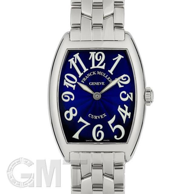 フランク・ミュラー トノーカーベックス 7502QZ ブルー FRANCK MULLER 中古 レディース  腕時計  送料無料  あす楽_年中無休