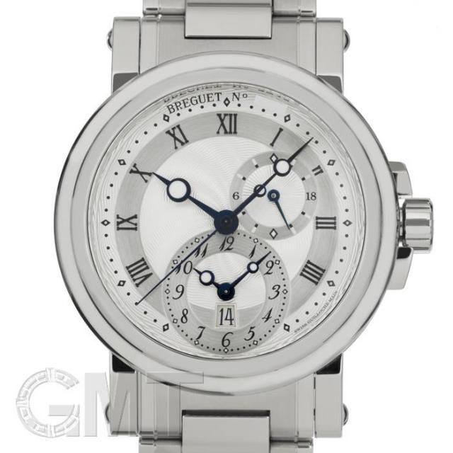 ブレゲ マリーン GMT 5857ST/12/SZ0 BREGUET 中古 メンズ  腕時計  送料無料