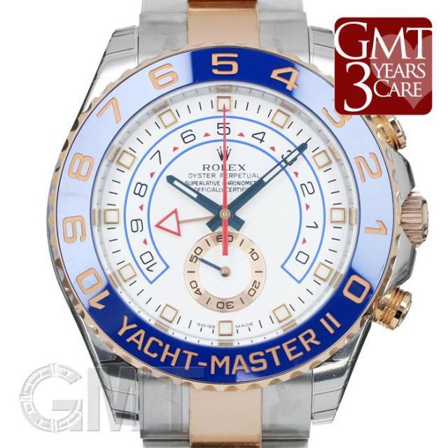 ロレックス ヨットマスターII 116681 ROLEX 未使用品 メンズ  腕時計  送料無料  未使用品/保護テープつき