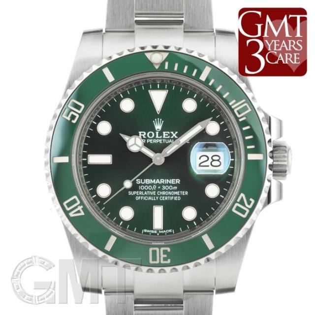 ロレックス サブマリーナ デイト 116610LV ROLEX 中古 メンズ  腕時計  送料無料