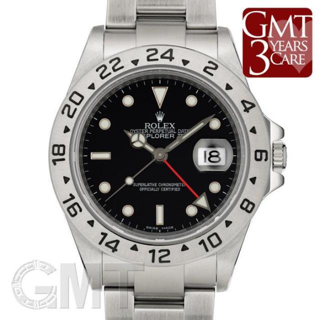 ロレックス エクスプローラー II 16570 ブラック ROLEX 中古 メンズ  腕時計  送料無料  あす楽_年中無休