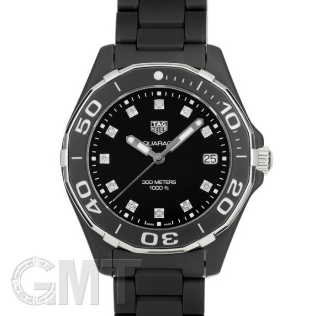 タグホイヤー アクアレーサーレディ WAY1397.BH0743 フルセラミック TAG HEUER 中古 ユニセックス  腕時計  送料無料