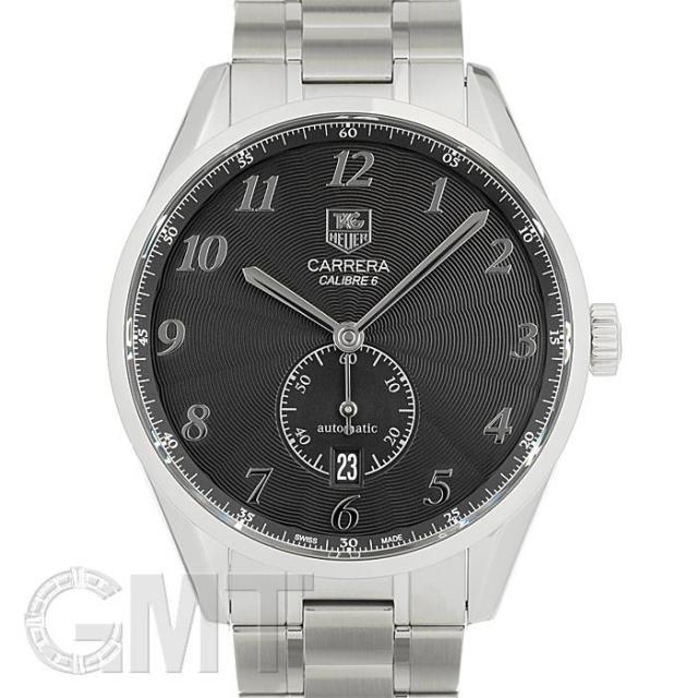 タグホイヤー カレラ ヘリテージ キャリバー 6 WAS2110.BA0732 TAG HEUER 中古 メンズ  腕時計  送料無料