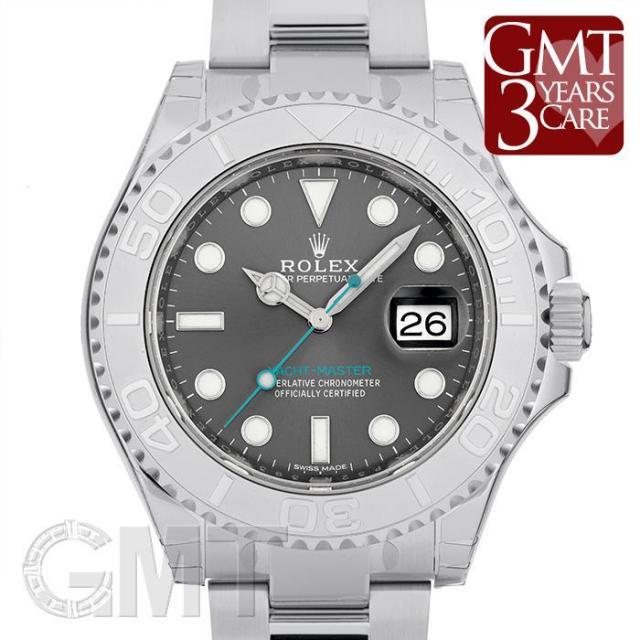 ロレックス ヨットマスター 116622 ダークロジウム ROLEX 未使用品 メンズ  腕時計  送料無料  未使用品/保護テープつき