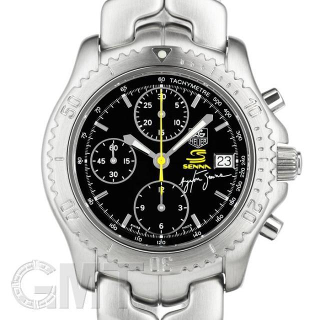 タグ・ホイヤー リンク クロノグラフ CT2115.BA0550 アイルトン・セナ限定モデル TAG HEUER 中古 メンズ  腕時計  送料無料
