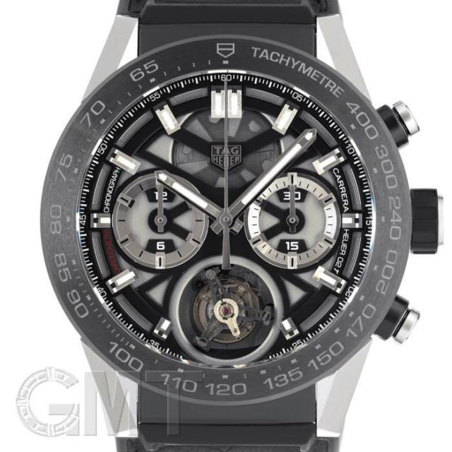 タグ・ホイヤー カレラ ホイヤー 02T COSC フライングトゥールビヨン 45mm CAR5A8Y.FT6072 TAG HEUER 中古 メンズ  腕時計  送料無料