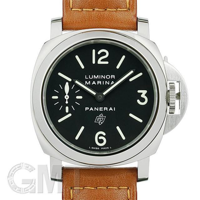 パネライ ルミノールマリーナ ロゴ 44mm PAM00005 OFFICINE PANERAI 中古 メンズ  腕時計  送料無料