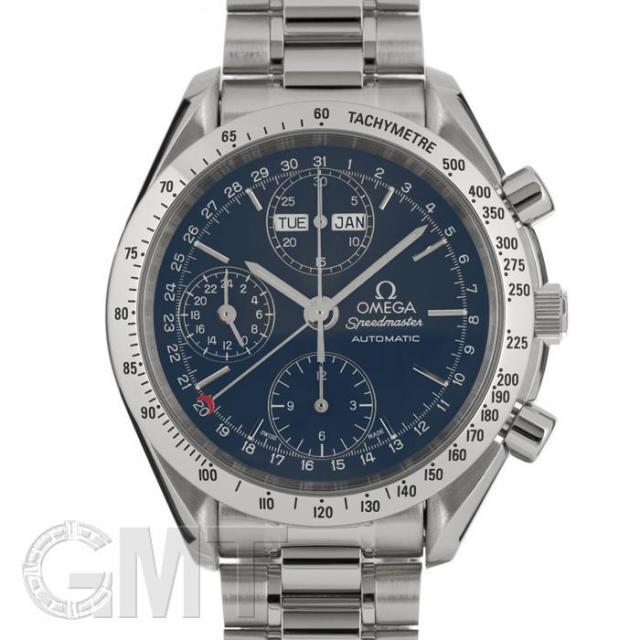 オメガ スピードマスター トリプルカレンダー 3521.80 OMEGA 中古 メンズ  腕時計  送料無料