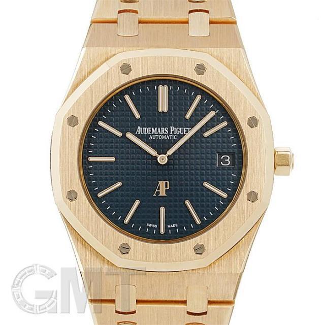 オーデマ・ピゲ ロイヤルオーク 「ジャンボ」 エクストラ シン ブルー ピンクゴールド 15202OR.OO.1240OR.01 AUDEMARS PIGUET 未使用品 メンズ  腕時計