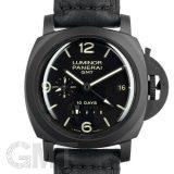 パネライ ルミノール 1950 10DAYS GMT PAM00335 OFFICINE PANERAI 中古 メンズ  腕時計  送料無料
