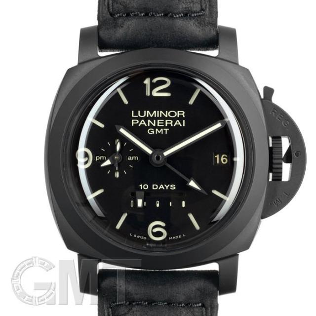 new arrival 05f2a dadf2 パネライ ルミノール 1950 10DAYS GMT PAM00335 OFFICINE ...