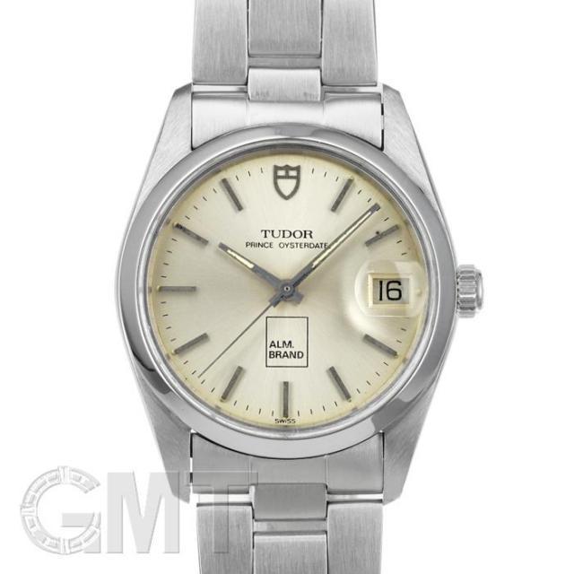 チュードル プリンス オイスターデイト シルバー 74000 TUDOR 中古 メンズ 腕時計 送料無料