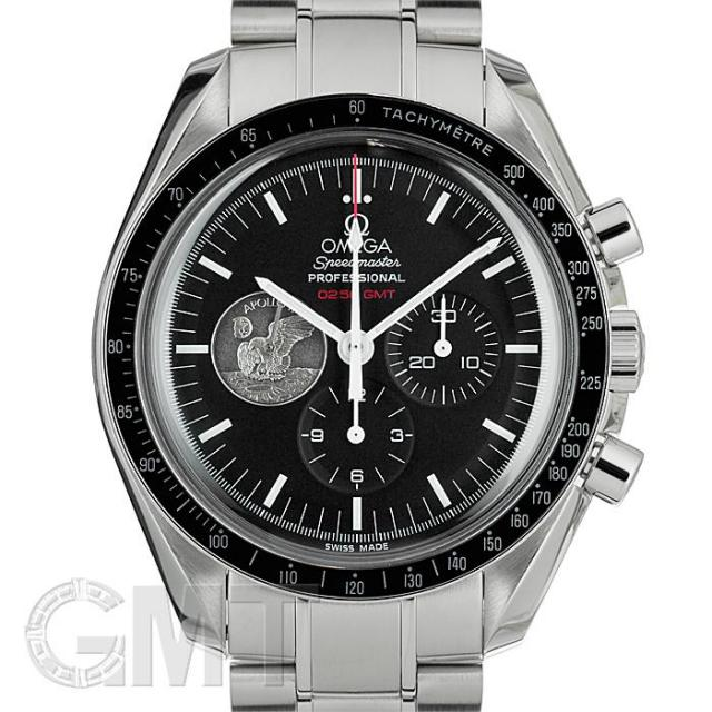 オメガ スピードマスタープロフェッショナル アポロ40周年記念モデル 311.30.42.30.01.002 世界限定7969本 OMEGA 中古 メンズ  腕時計  送料無料  あす楽_年中無休