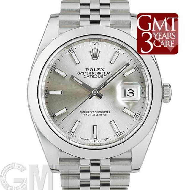 ロレックス デイトジャスト 41 126300 シルバー ジュビリーブレス ROLEX 中古 メンズ  腕時計  送料無料