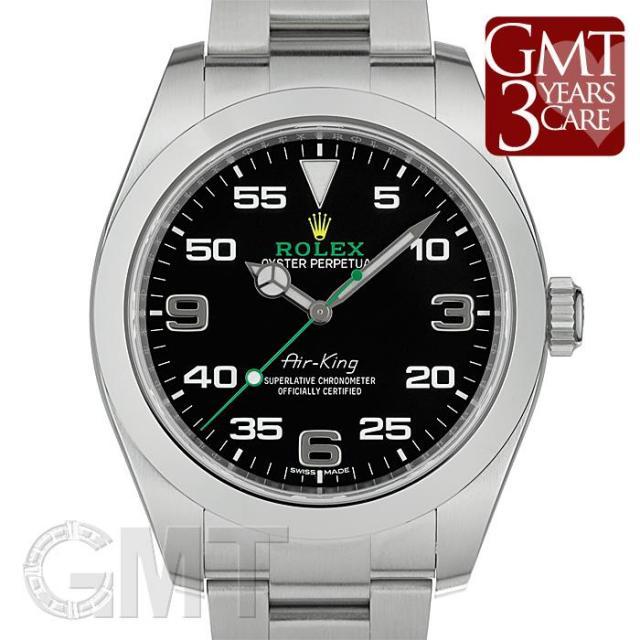 ロレックス エアキング 116900 ブラック ROLEX 中古 メンズ  腕時計  送料無料  あす楽_年中無休