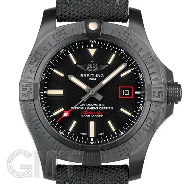 ブライトリング アベンジャー ブラックバード 44 V171B74MMA BREITLING 中古 メンズ  腕時計  送料無料  あす楽_年中無休