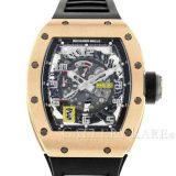 リシャールミル オートマチック デクラッチャブルローター RM030 RICHARD MILLE 腕時計 ローズゴールド 安心保証 中古