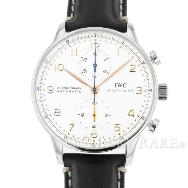 IWC ポルトギーゼ クロノグラフ IW371401 腕時計 ウォッチ アイダブリューシー 安心保証 中古