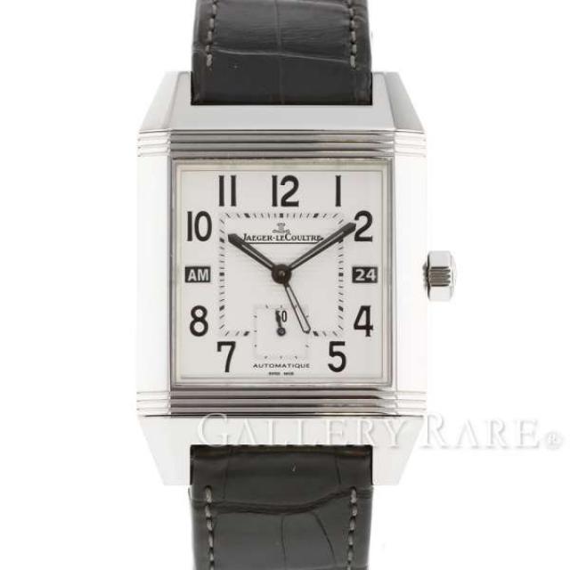 ジャガールクルト レベルソ スクアドラ ホームタイム Q7008420 230.8.77 JAEGER LECOULTRE 腕時計 安心保証 中古