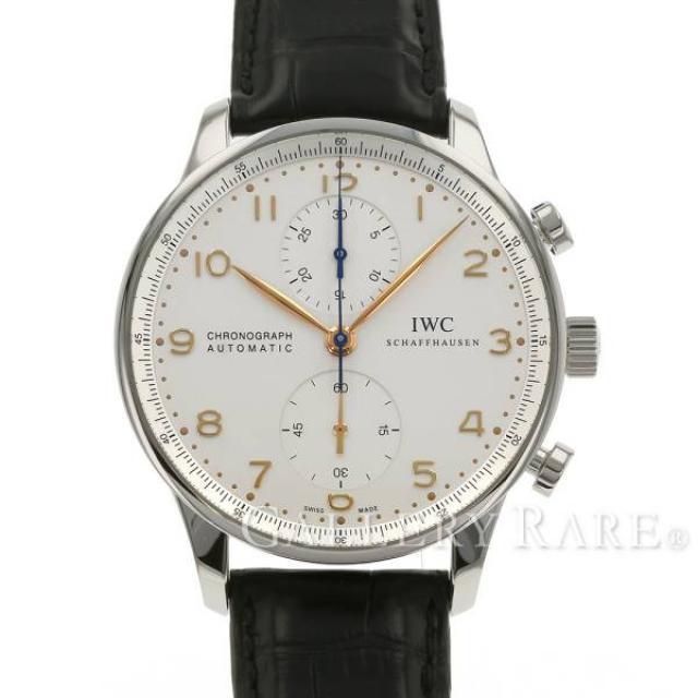 IWC ポルトギーゼ クロノグラフ オートマチック IW371445 腕時計 ウォッチ 安心保証 中古