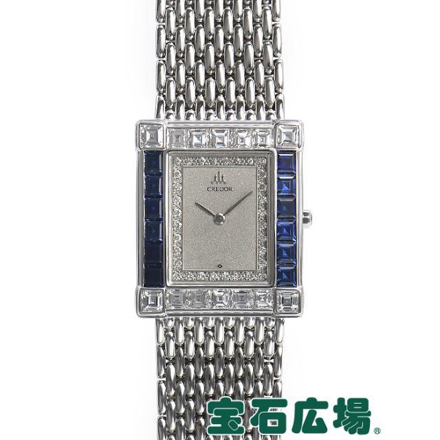 セイコー クレドール スクエア2針 5A70-5080 中古 レディース 腕時計