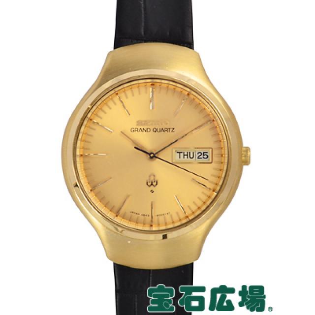 セイコー グランド クオーツ 4843-8005 中古 メンズ 腕時計