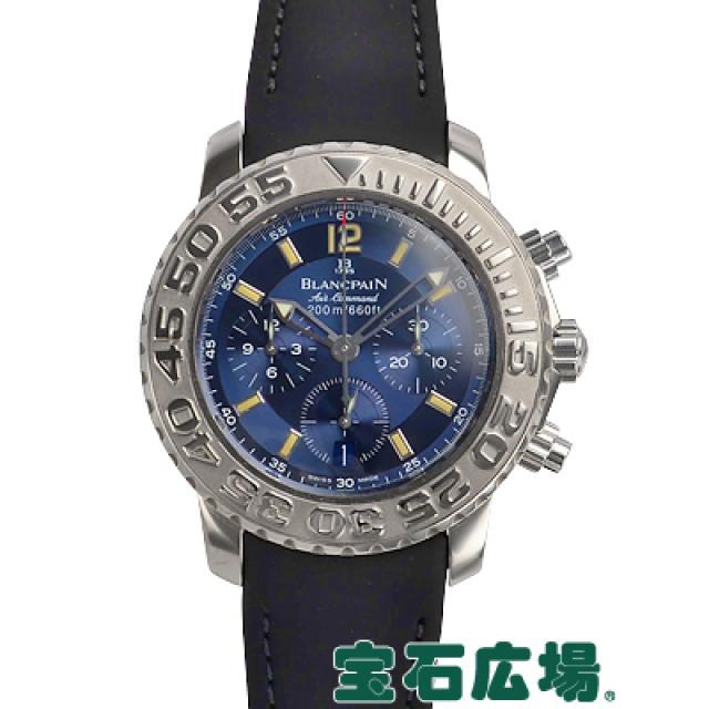 ブランパン トリロジー エアコマンド フライバッククロノ 中古 メンズ 腕時計