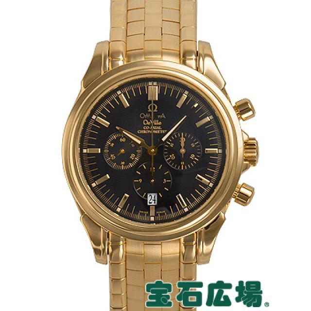 オメガ デビルコーアクシャルクロノ 4141-50 中古 メンズ 腕時計 YG